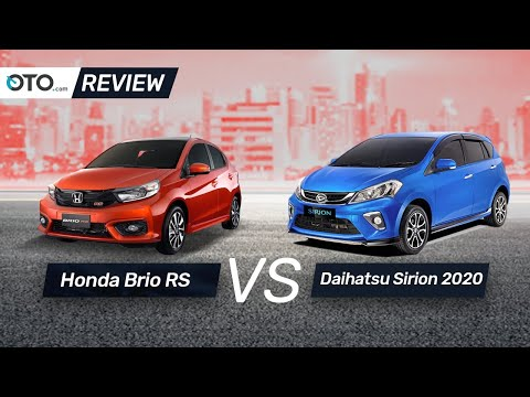 Honda Brio RS vs Daihatsu Sirion 2020 | Review | Pilih Yang Mana? | OTO com