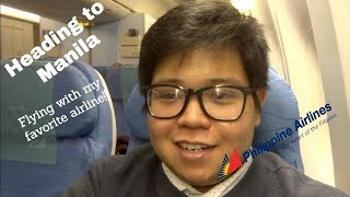VLOG: London to Manila with PAL LHR - MNL (PR721) // TimJ Travels
