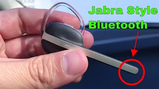 ✅  How To Use Jabra Style Bluetooth Earpiece Review