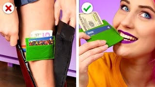 Cool FASHION HACKS For Any Occasion ! 9 Fashion Ideas & DIY Accessories