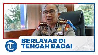 Perjuangan Ditlantas Polda Metro Jaya Lawan Covid-19 Tertulis dalam Buku 'Berlayar di Tengah Badai'