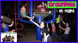 Groundies At Night   Playground Wars  That YouTub3 Family