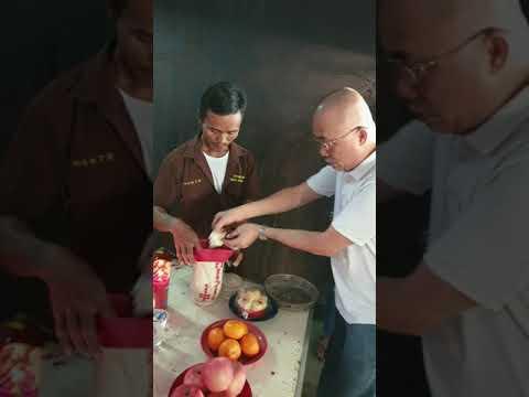 Acara Pemakaman Alm 苏 圻 天 ( Sumartono ) 2 - Nov 2019 Cap Gue Chue Lak