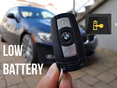 How To Replace Battery On BMW Key fob ( e92- w/ comfort