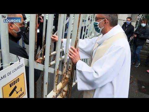 Comment le Sanctuaire de Lourdes a rouvert le 16 mai après 60 jours de fermeture dus au coronavirus