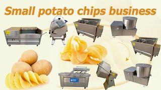 fried potato chips processing machine youtube video