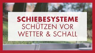 Schon Schiebetüren Für Terrasse, Wintergarten, Balkon U0026 Loggia Von Glas Marte:  Windschutz U0026 Schallschutz
