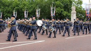Royal Air Force 100th Anniversary Parade At Buckingham Palace.