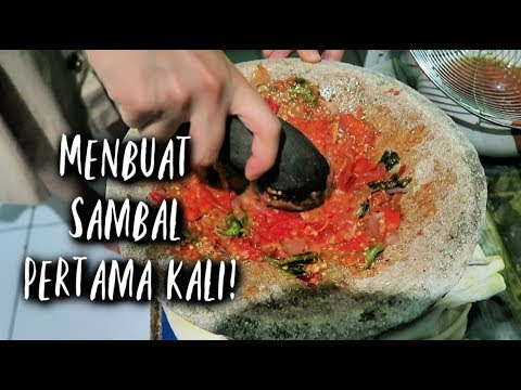 Making Sambal From Scratch! // Indonesian Spicy Sauce
