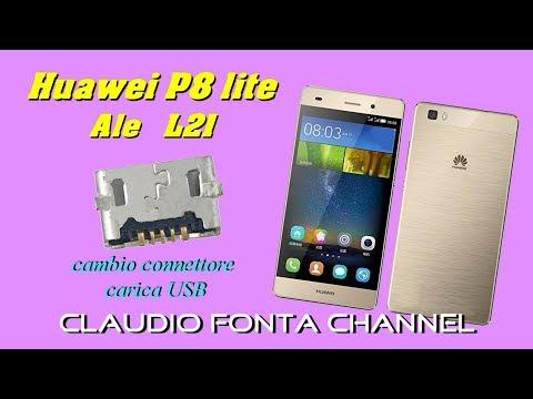 come cambiare connettore alimentazione usb Huawei P8 ALE L21