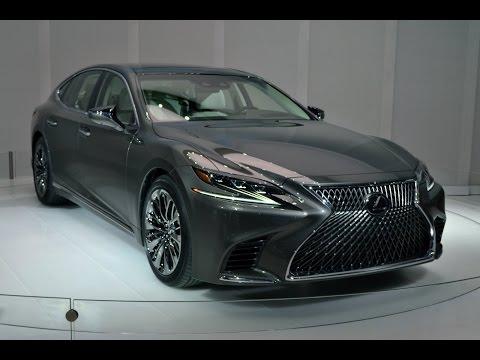 2018 Lexus LS First Look - 2017 Detroit Auto Show
