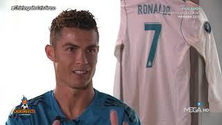 "Cristiano: ""Cuando me QUITO la CAMISETA me dicen"