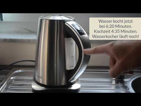 122 - Edelstahl Wasserkocher von Aicok
