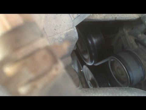 Замена подшипника насоса гидроусилителя руля чери амулет