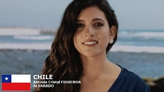 Antonia Cristal Figueroa Contestant from Chile for Miss World 2016 Introduction