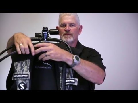 SCUBAPRO's Super Cinch cam buckle and how to properly setting up your BCD, w/David Rhea
