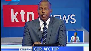 AFC joins Gor at the top of the table after 2:1 win over Kakamega Homeboyz