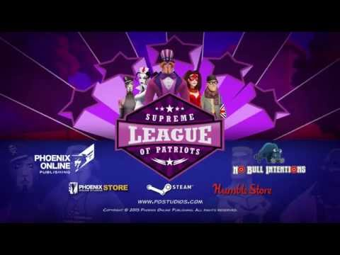 Supreme League of Patriots Gameplay Trailer thumbnail