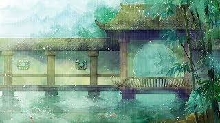 Peaceful Piano & Soft Rain • Deep Sleep Music, Beautiful Relaxing Music, Stress Relief