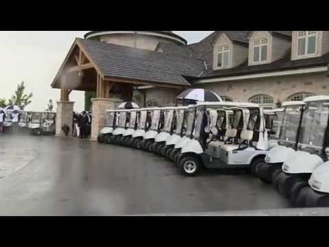 Larry Rosen speaks at Golf to Conquer Cancer 2014