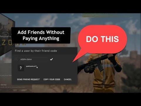 How to ADD and PLAY CSGO with Friends Without Paying Anything [2020]