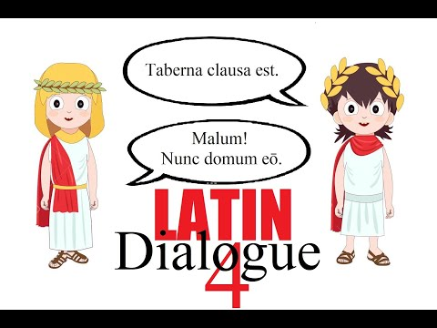 Latin Dialogue #4 | To Go | Latin Lessons for Beginners | Latin 101