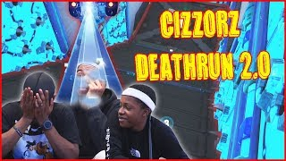 Cizzorz Deathrun 2.0 World Record Attempt! It's TOO Hard!!
