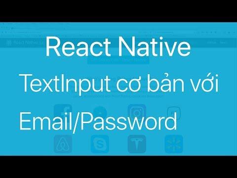 10-TextInput#1.Sử dụng TextInput để nhập Email và Password
