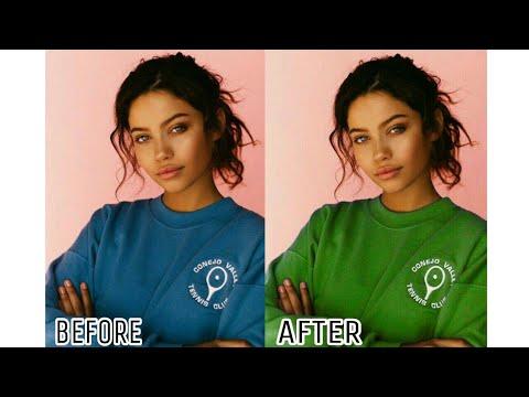Tutorial Merubah Warna Baju Di Picsart Kaskus