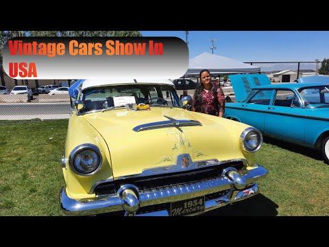 VINTAGE CAR SHOW IN USA || TELUGU || #teluguvlogsusa