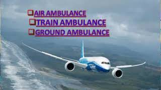 Specialized Service by Global Air Ambulance in Gaya at Low-budget