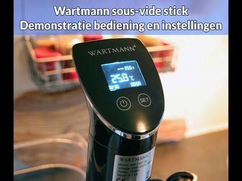 Wartmann WM-1507 SV sous-vide stick - bediening