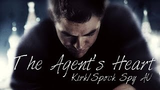 The Agent's Heart | Star Trek Spy AU | Kirk/Spock