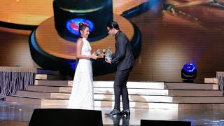 KathNiel wins Movie Loveteam of the Year at the 35th Star Awards for Movies