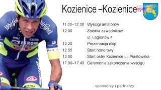 Międzynarodowy Wyścig Kolarski Dookoła Mazowsza ponownie zawita do Kozienic (08.07.2020)