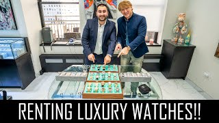RENTING LUXURY WATCHES WORTH THOUSANDS!!!