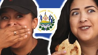 Latinos Try Pupusas For The First Time