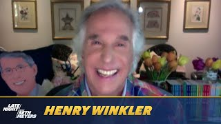 Henry Winkler's Heart Fell Out of His Body When His Grandson Dressed as The Fonz
