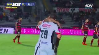 Lobos BUAP Vs Tijuana 3-1, J-15 Apertura 2018, Liga MX 2018, Goles