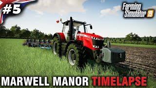 FS19 Marwell Manor Timelapse #17 Digestate Spreading - Самые