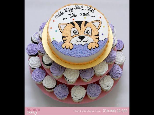 Những mẫu bánh sinh nhật tuổi hổ – tuổi dần đẹp, được nhiều người đặt hàng
