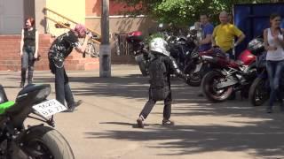Волонтерская поездка Московских байкеров в детский дом 01.06.2014