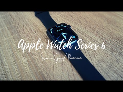 APPLE WATCH SERIES 6 | SPACE GREY ALUMINIUM (UNBOXING + ASMR)