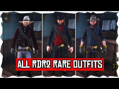 Red Dead Redemption 2 - How To Get All Rare Outfits & Costumes In