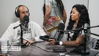 No Jumper - Cuban Doll walks out on her No Jumper interview