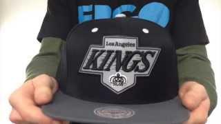Kings '3M XL-LOGO SNAPBACK' Black-Grey Hat by Mitchell & Ness