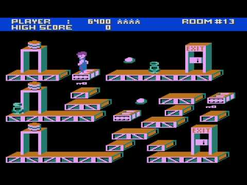Ollies Follies Atari 800xl Longplay