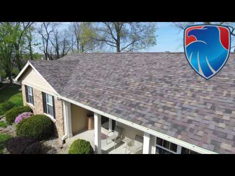 After hearing about us from a happy family member that used us we where contacted to come out and inspect the roof for damage. We discovered hail on the roof and gutters. After working with the home owners insurance company we helped get them the brand new roof they deserved.