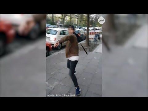 Israeli (21) auf Gehsteig mit Gürtel attackiert