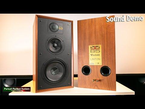 External Review Video 6x-BKCaygzU for Wharfedale Linton Heritage Bookshelf Loudspeaker
